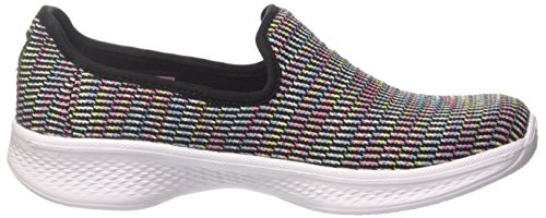 Go Walk Para select black multicolour Sin Negro 4 Skechers Zapatillas Niñas Cordones qwCdRn5