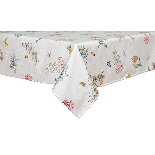 Lenox Butterfly Meadow 60-inch by 102-inch Oblong / Rectangle Tablecloth]()