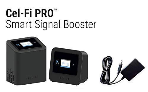 Cel-Fi Plug & Play Smart Signal Booster for Home or Small Office | AT&T (Best Indoor Antenna For Apartment)