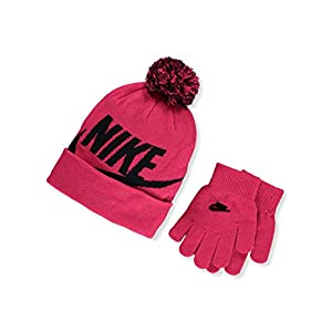 Nike Girls' Hat & Gloves Set (Youth One Size)