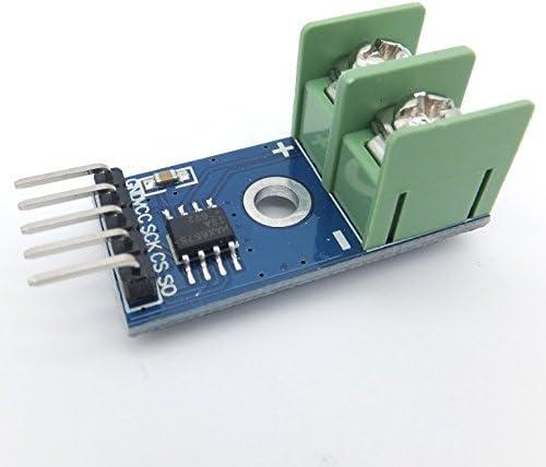 Thermoelement Typ K Edelstahl Sonde MAX6675 Modul 0-5V Ausgang