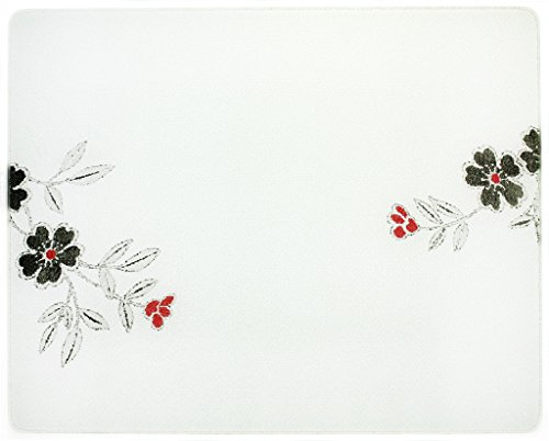 corelle red flower - 1