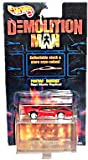 Hot Wheels - Demolition Man (Sci-Fi Action Film/Sylvester Stallone/Wesley Snipes) - Pontiac Banshee (Red) Car Replica w/Bonus Stackable Cryo-Cube Storage Unit and Respective Picture Puzzle Segment
