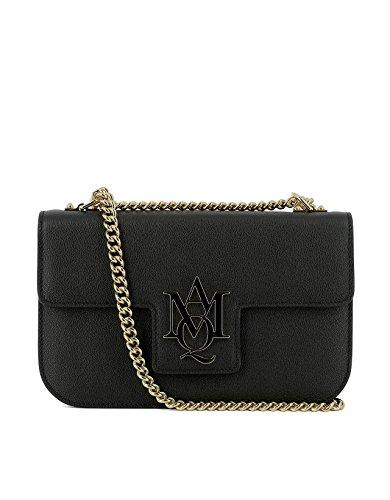 alexander-mcqueen-womens-439445dn10g1000-black-leather-shoulder-bag