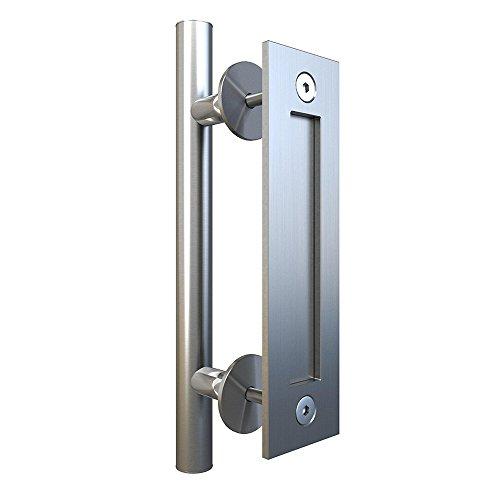 Flush Doors Wood - JUBEST Stainless Steel Smooth 12