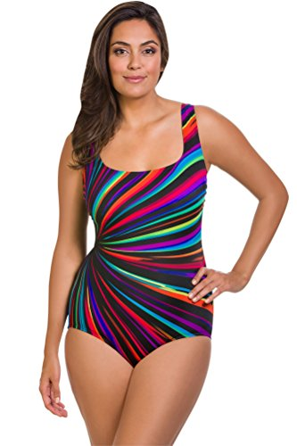 Longitude Zenon One Piece Swimsuit Size 12 by Longitude
