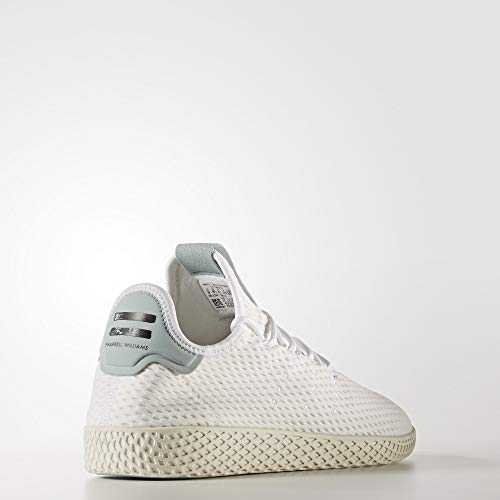adidas Originals Men's Pharrell Williams Human Race White/White/Green 4 D US D (M) by adidas Originals (Image #6)