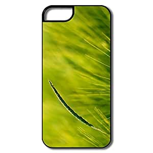 Custom Cool Friendly Packaging Green Grass IPhone 5/5s Case For Team