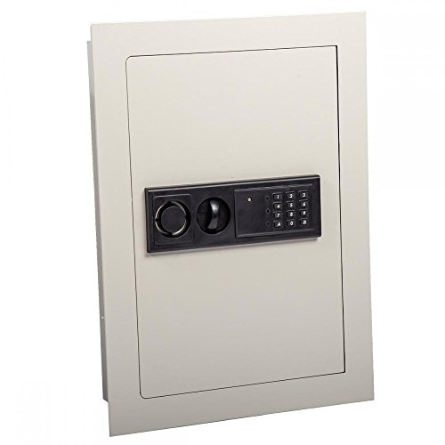 0.8CF Home Security Lock Gun Box Electronic Digital Flat Recessed Wall Safe (Gun Safes Wall)