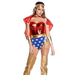 Forplay Women's Super Seductress Costume Set
