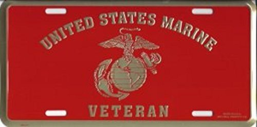 US Marine Corps Veteran License Plate Mittchell Proffitt LM28