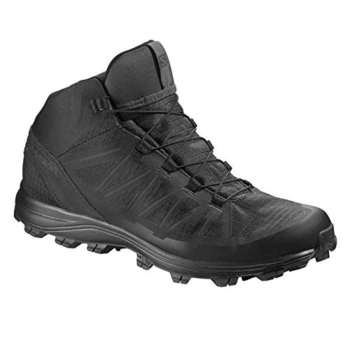 Salomon Forces Speed Assault Tactical Boots (8, Black) (Boots Alpine Mountaineering)