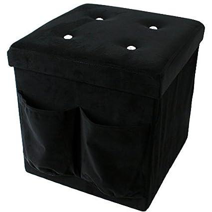 Asiento de cubo de taburete plegable en forma de cubo de revistero ...