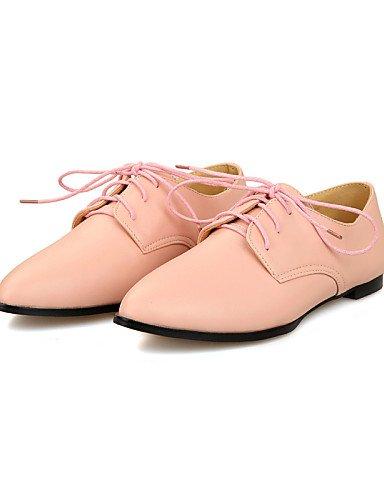 Eu38 Bureau confort Pointu Bout Noir 5 amp; Njx Extérieure Travail Pink Décontracté Rose us7 Talon Uk5 Blanc Chaussures Femme Rouge Plat Cn38 5 ZqwOHt