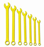 Williams WS-1170YSC 7-Piece Yellow Super Combo Combination Wrench Set