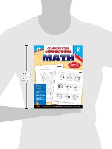 Common Core Connections Math, Grade K: Carson-Dellosa Publishing ...