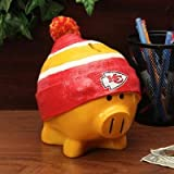 Kansas City Chiefs Piggy Bank - Large With Hat
