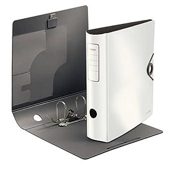 Leitz 10471020 Qualitäts Ordner 180 Active Solid Breit A4 Weiß