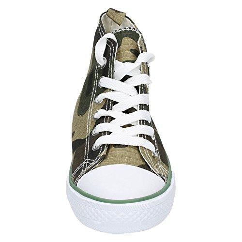 JCDees , Jungen Sneaker Grün