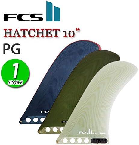 FCS2 ロングボード センターフィン シングル HATCHET 10