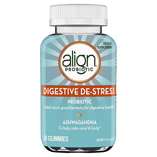 Align Probiotic, Digestive De-stress, Probiotic with Ashwagandha, which Helps with a healthy response to stress, Berry…