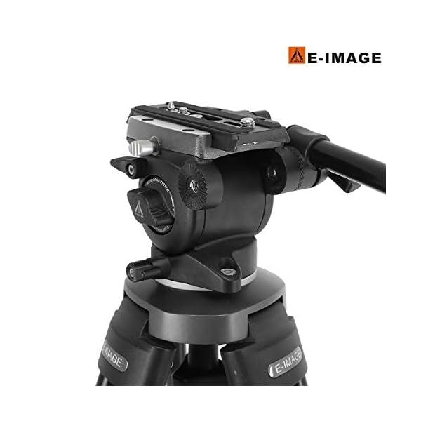 RetinaPix Simpex E-Image Tripod EK 630 New Series Fluid Head Professional Tripod for SLR Cameras