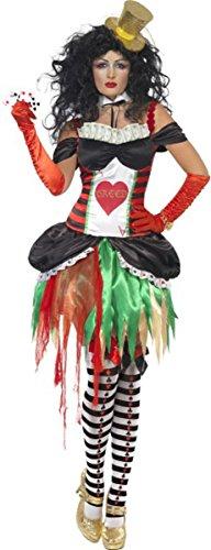 [Ladies Halloween Fancy Dress Seven Deadly Sins Greed Costume Large] (Halloween 7 Deadly Sins Costumes)