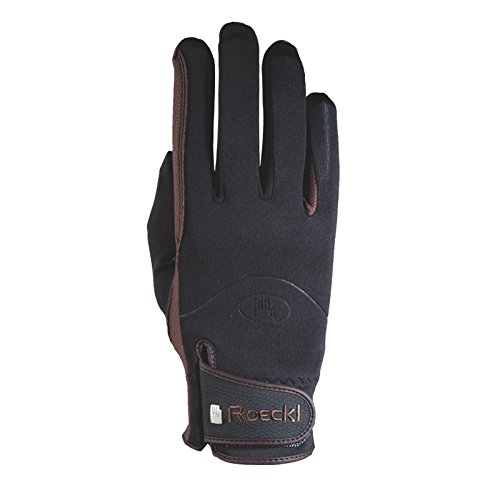 Roeckl Winchester Riding Gloves 7 Black B06XPKPVNS