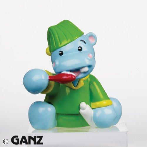 (Webkinz Mini PVC Figure Brushing Up Hippo)