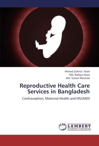 Reproductive Health Care Services in Bangladesh: Contraception, Maternal Health and HIV/AIDS