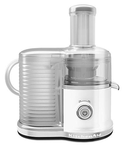 KitchenAid KVJ0333WH Easy Clean Juicer, White