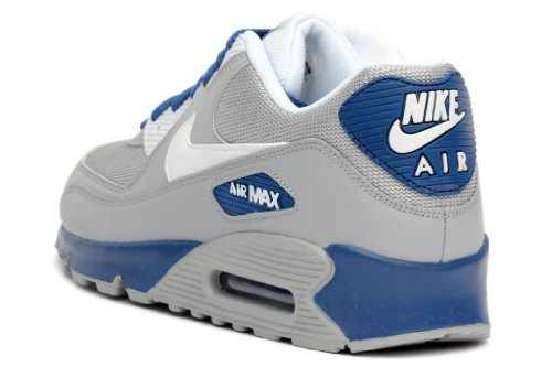 nike air max 90 blue and grey