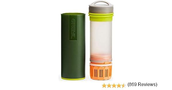 GRAYL Purificador de agua ultraligero - COMIN18JU054105, 16 oz (473 ml), Verde: Amazon.es: Deportes y aire libre