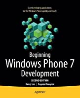 Beginning Windows Phone 7 Development, 2nd Edition Front Cover