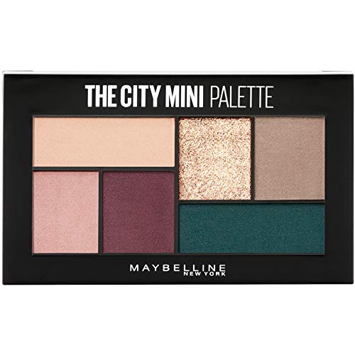 Maybelline New York The City Mini Eyeshadow Palette Makeup, Diamond District, 0.14000000000000001 Ounce