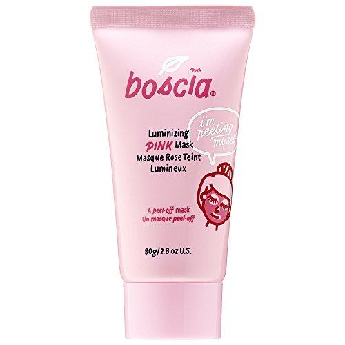 Boscia Luminizing Pink Mask with Charcoal Pore Minimizer Peel Off 80g 2.8oz