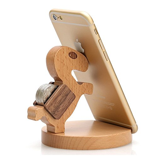 Creative Natural Wooden Holder Samsung product image
