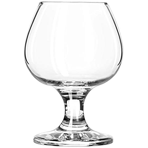 5.5 oz Brandy Glass Libbey 3702 Embassy Snifter or Cocktail Set of 1 w/Pourer
