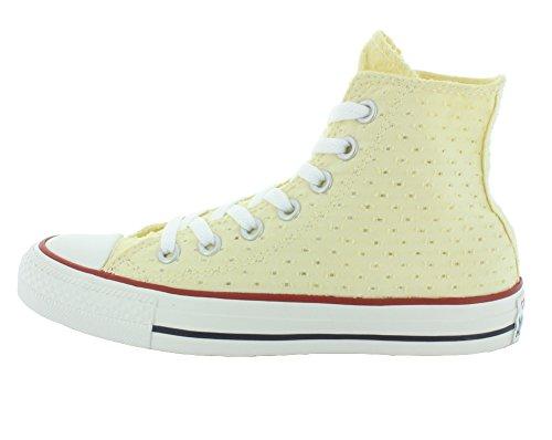 M Chuck High Taylor Natural Sneaker Women's Top Cut Out 5 6 Converse XHPRwqx