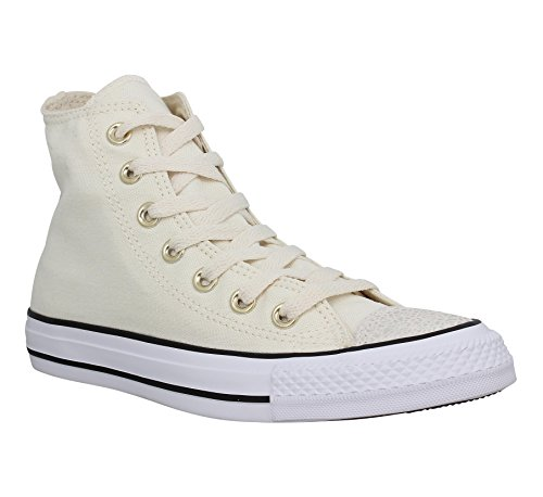 Femme Toile Star Converse Taylor Chuck Hi All Parchment xwSY46YO