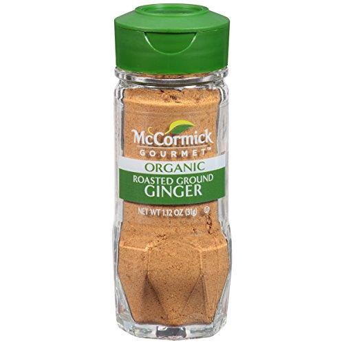 McCormick Gourmet Organic Roasted Ground Ginger, 1.12 oz - Roasted Ground
