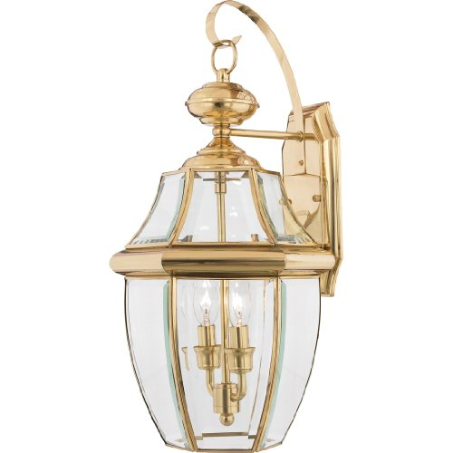 Brass Outdoor Light - 3