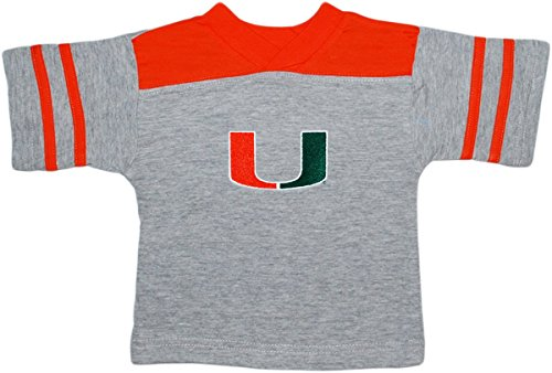 - University of Miami Hurricanes Baby Sport Shirt Orange