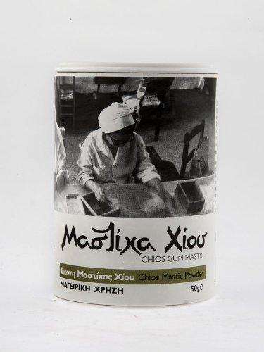 Mastiha Powder for Cooking 50 Gr - Xios Mastic by Mastiha Growers Association