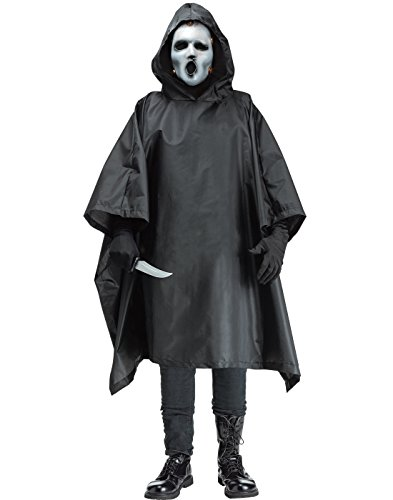 Fun World Men's Licensed Scream MTV, Black, STD. Up to 6' / 200 lbs ()
