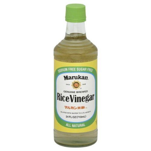 Marukan Genuine Brewed Rice Vinegar, 24 oz