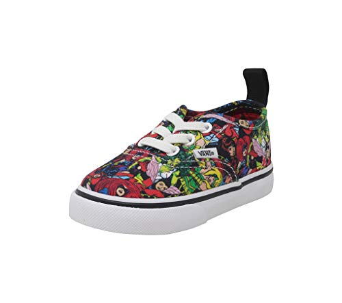 Vans Authentic Elastic Lace (Marvel) (Toddler) -