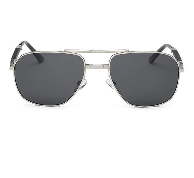 Lostryy Gafas de sol plegables para hombres/Polarizador de ...