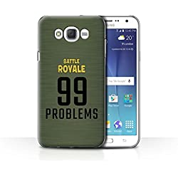 STUFF4 Phone Case/Cover for Samsung Galaxy J7 (2016) / 99 Problems Design/FN Battle Royale Collection