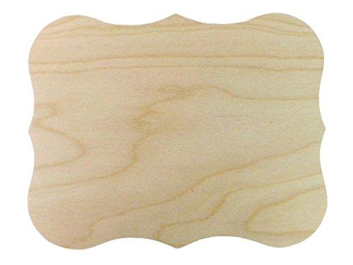 Walnut Hollow 41165 Baltic Birch Simple Shape Chippendale, Beige